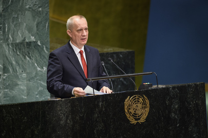 Deputy Foreign Minister of Belarus Addresses General Assembly