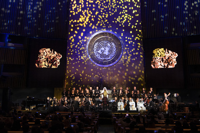 UN Day Concert Performed by Qatar Philharmonic Orchestra