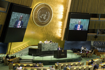 General Assembly Hears Report of International Court of Justice