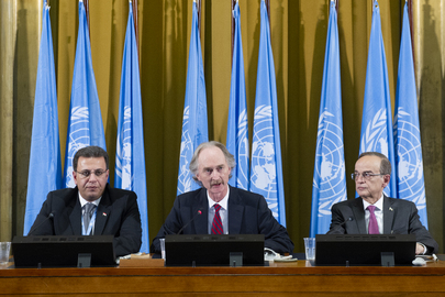 Opening of Syrian Constitutional Committee in Geneva