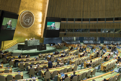 General Assembly Adopts Report of International Criminal Court