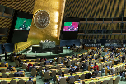 General Assembly Meets on Necessity of Ending Economic, Commercial and Financial Embargo Imposed by US Against Cuba