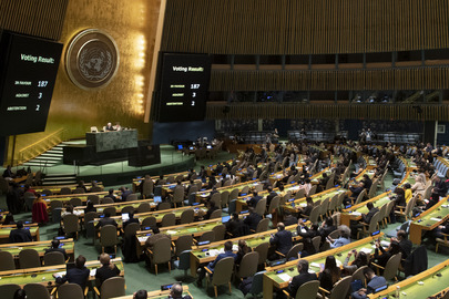 General Assembly Votes on Ending Financial Embargo Against Cuba