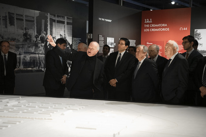 Commemoration of 81st Anniversary of Kristallnacht at Museum of Jewish Heritage