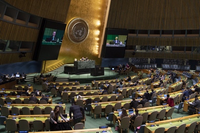 General Assembly Meets on Question of Equitable Representation Related to Security Council