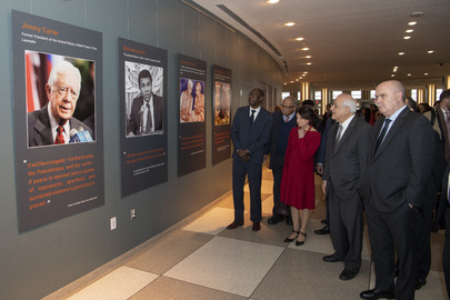 """Opening of Exhibit """"Palestine: the Most Universal of National Causes"""""""