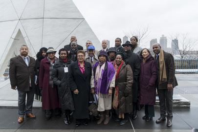 US Congressional Black Caucus Visit Ark of Return