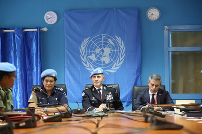 United Nations Police Adviser Visits UNMISS