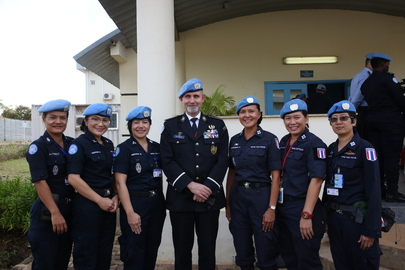 United Nations Police Adviser Visits UNMISS