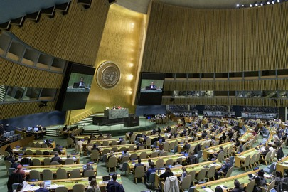 General Assembly Considers Report of Second Committee