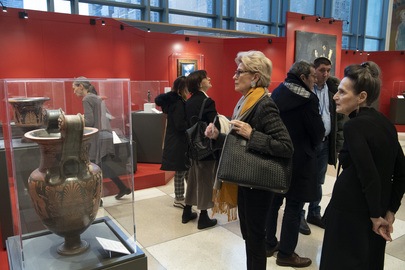 """Opening Ceremony of Exhibition """"Recovered Treasures: The Art of Saving Art"""""""