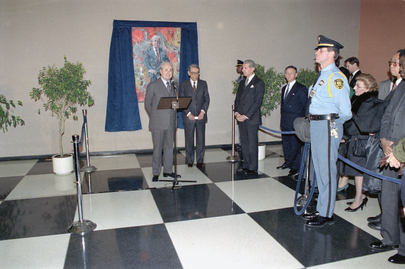 Unveiling of Portrait of the Fifth Secretary-General of the United Nations