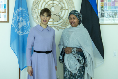 Deputy Secretary-General Meets President of Estonia