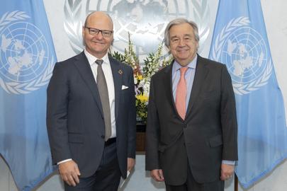 Secretary-General Meets Director-General of Swiss Federal Statistical Office