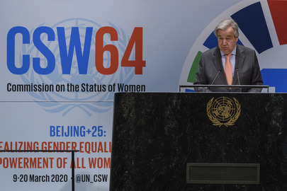 Opening of 64th Session of Commission on Status of Women