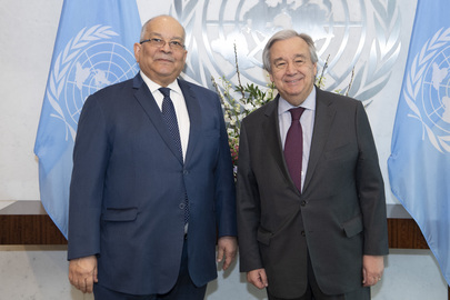 Secretary-General Meets Head of Central African Economic Community