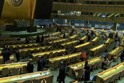General Assembly Meets on Oceans and Law of Sea