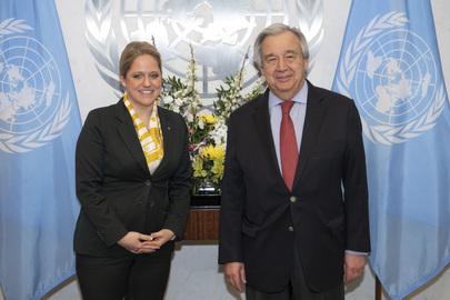 Secretary-General Meets Minister for Foreign Affairs of Liechtenstein