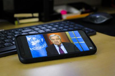 Secretary-General Holds Virtual Press Briefing on Coronavirus Outbreak