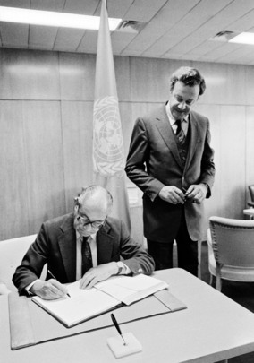 The Netherlands Signs Agreement Covering Activities of States on the Moon and Other Celestial Bodies