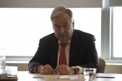 Secretary-General Holds Videoconference with UN75 Foundation Partners