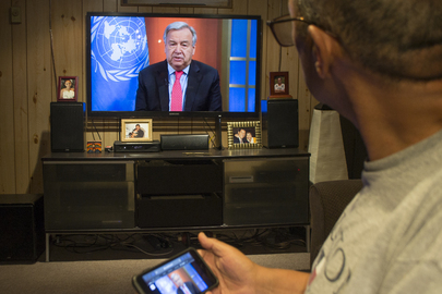 Secretary-General Holds Virtual Press Briefing to Appeal for Global Ceasefire