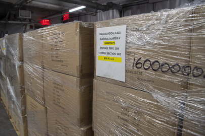 UN Donates 250,000 Face Masks to New York City Health Workers
