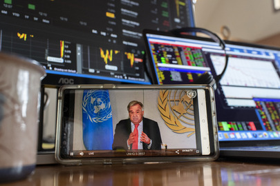 Secretary-General Holds Virtual Press Briefing to Launch Report on Socioeconomic Impact of COVID-19