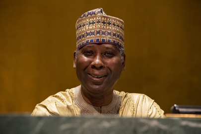 Portrait of President of 74th Session of UN General Assembly