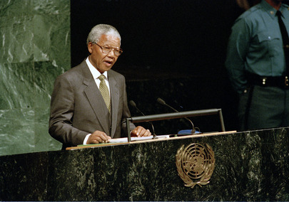 President of South Africa Addresses 49th Session of the General Assembly