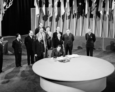 The San Francisco Conference: Mexico Signs the United Nations Charter