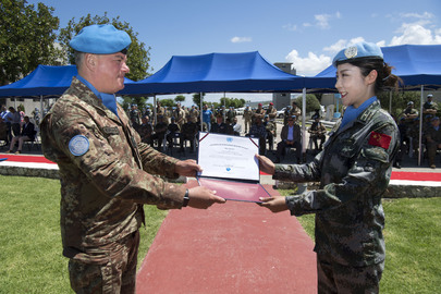 UNIFIL Observes International Day of UN Peacekeepers