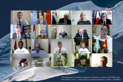 Security Council Members Hold Open Videoconference in Connection with United Nations Peacekeeping Operations