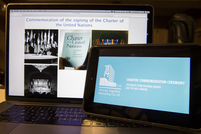 Commemoration of Signing of UN Charter on UN Charter Day