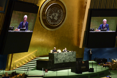 Opening of 75th session of General Assembly