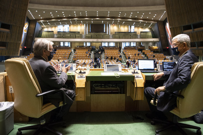 General Assembly Holds High-level Meeting to Commemorate 75th Anniversary of United Nations