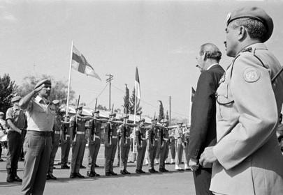 Secretary-General Arrives in Nicosia