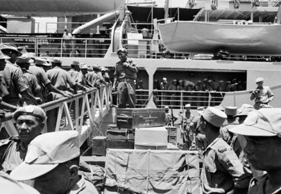 Indian Troops Return Home from the Congo