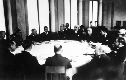Leaders of Major Allied Powers Meet at Yalta