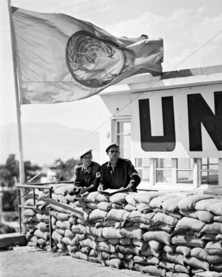 UN Truce Supervision Organization - Strengthening of Military Observer Operation in the Suez Canal Sector