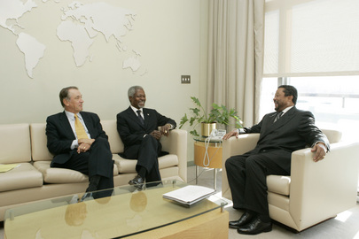 Secretary-General Meets with Outgoing and Incoming General Assembly Presidents