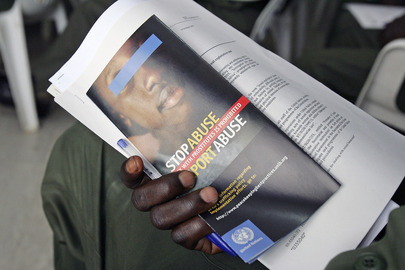 UNOCI Peacekeepers Participate in Sexual Exploitation Awareness Training
