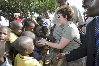 UN High Commissioner for Human Rights visits Côte d'Ivoire