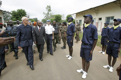 New Police Training Centre Opens in Bouake, Côte d'Ivoire