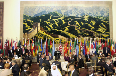 Secretary-General Hosts Luncheon for Leaders Attending 2005 World Summit