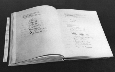 The San Francisco Conference: Signing of the United Nations Charter