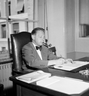 United Nations Secretary-General Dag Hammarskjöld