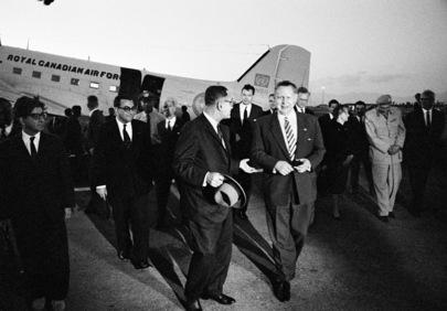Ralph J. Bunche Visits Cyprus
