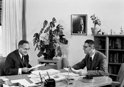 Dr. Ralph Bunche Interviewed for Radio Denmark