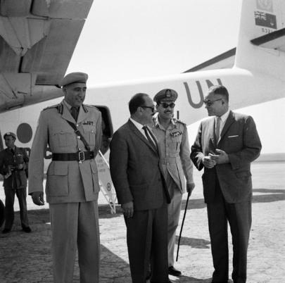 UN Under-Secretary Visits UNEF